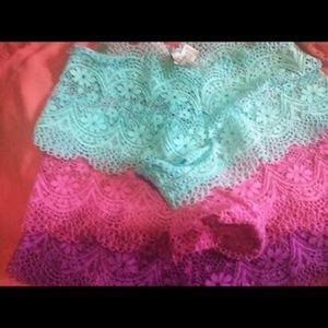 Victoria Secret pantie bundle (3) xsmall
